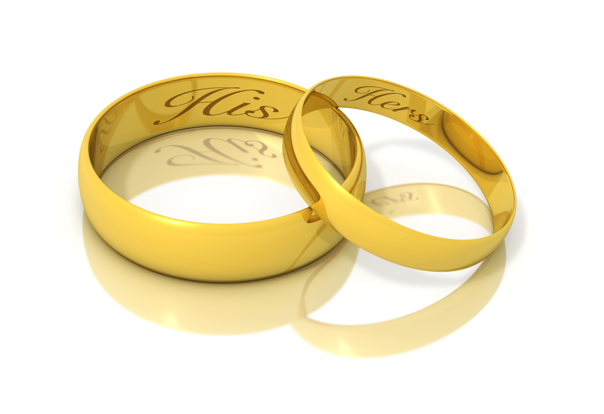 Most Contemporary Wedding Rings Are Simple Gold Bands Engraved On